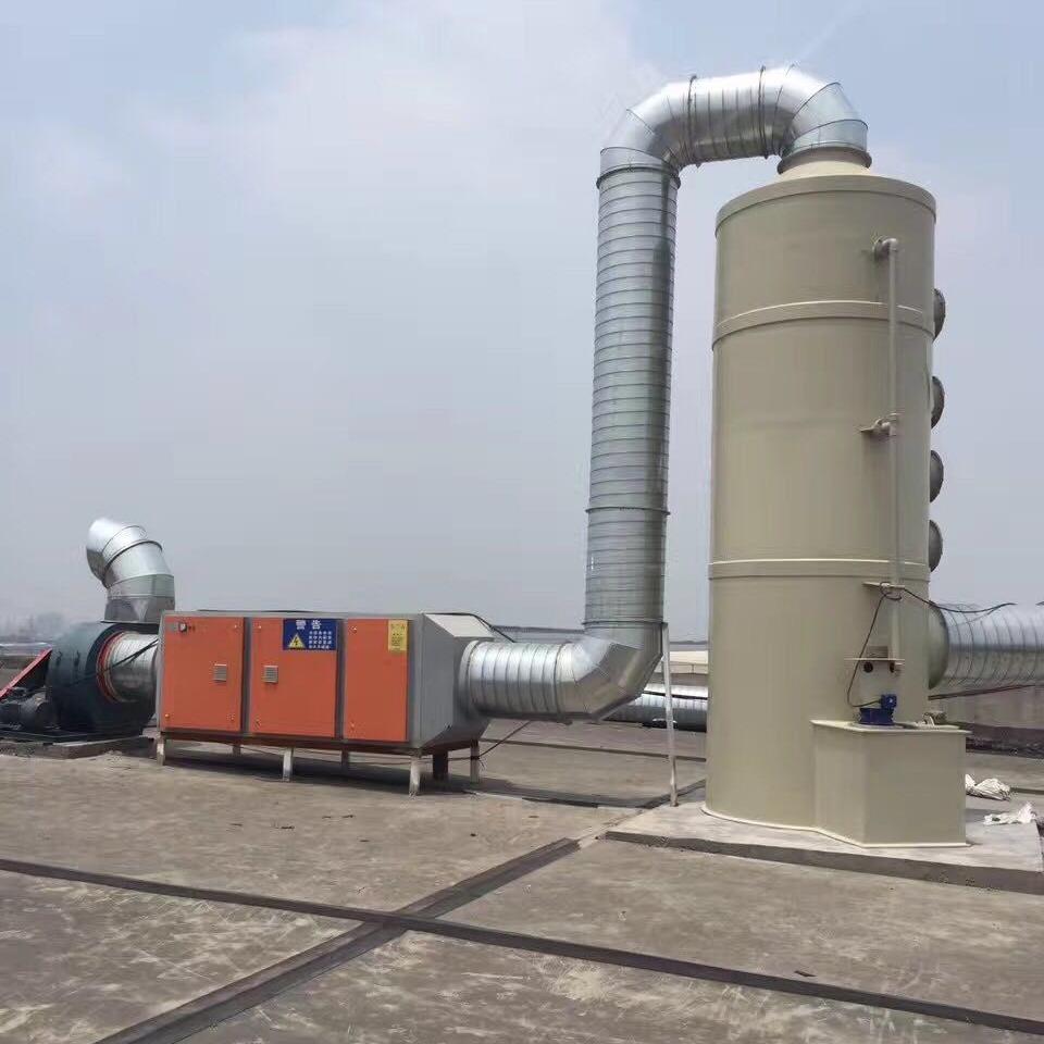 士涂环保 高端喷淋塔 旋流塔 PP喷淋塔批发