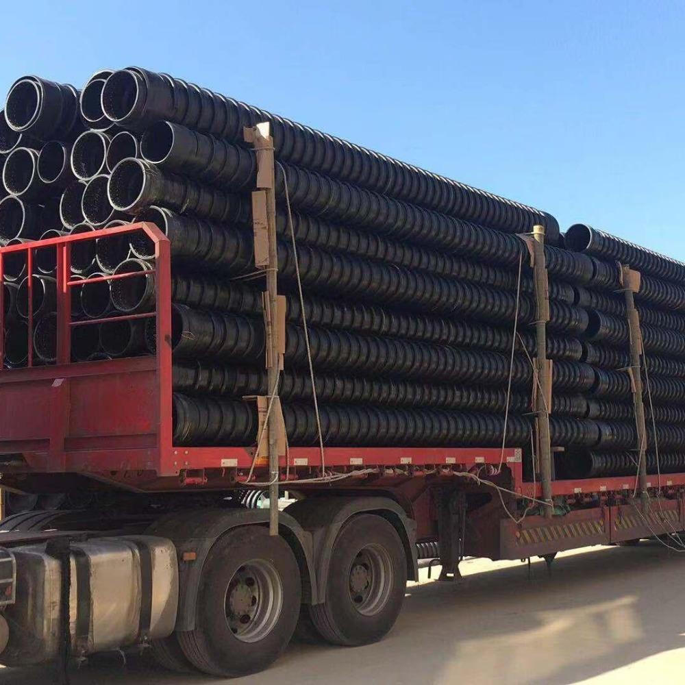 安徽合肥HDPE增强缠绕结构壁B型管生产厂家 缠绕结构壁管材厂家