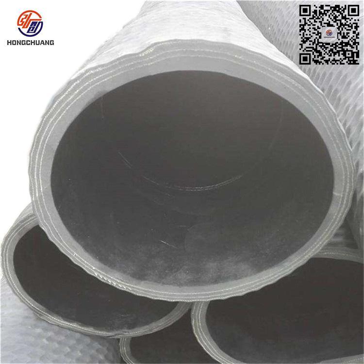 弘创厂家直销水泥罐车打灰软管 钢丝网编织卸灰管 特种耐磨放料管