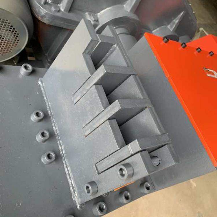 欧伟定制废旧钢筋切断机厂家废旧圆钢自动剪截断机价格废料切断机