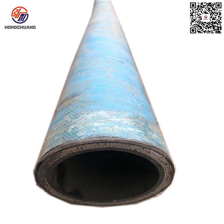 河北直销高耐磨卸灰胶管 水泥罐车卸灰管 高耐磨钢丝编织橡胶软管加工订做