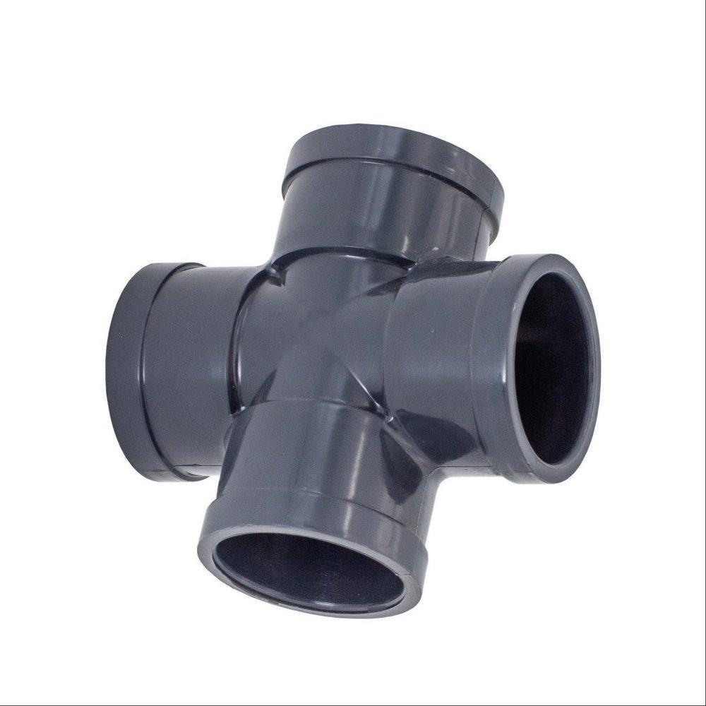 常州西塔塑胶制品厂家直销PVC正四通 规格齐全