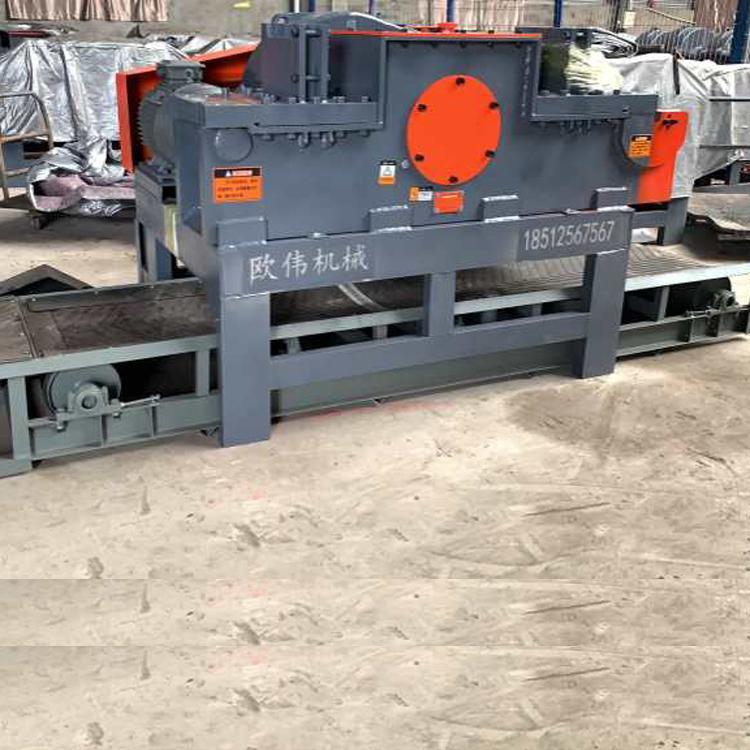 欧伟厂家40型50型直螺纹圆钢钢筋切断机速断机 加重型钢筋切割机