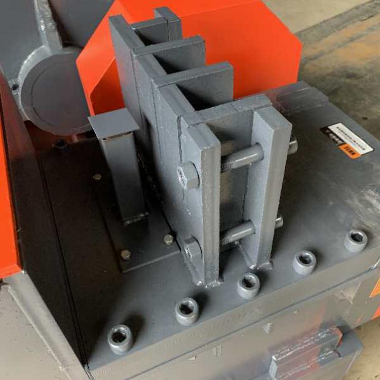 欧伟厂家直销废旧钢筋切断机厂家废旧圆钢自动剪截断机价格废料切断机