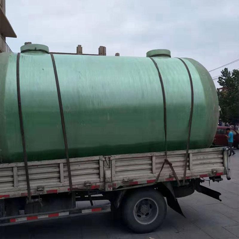 华创玻璃钢食品水罐 玻璃钢隔油池 沉淀池 耐酸碱耐腐蚀