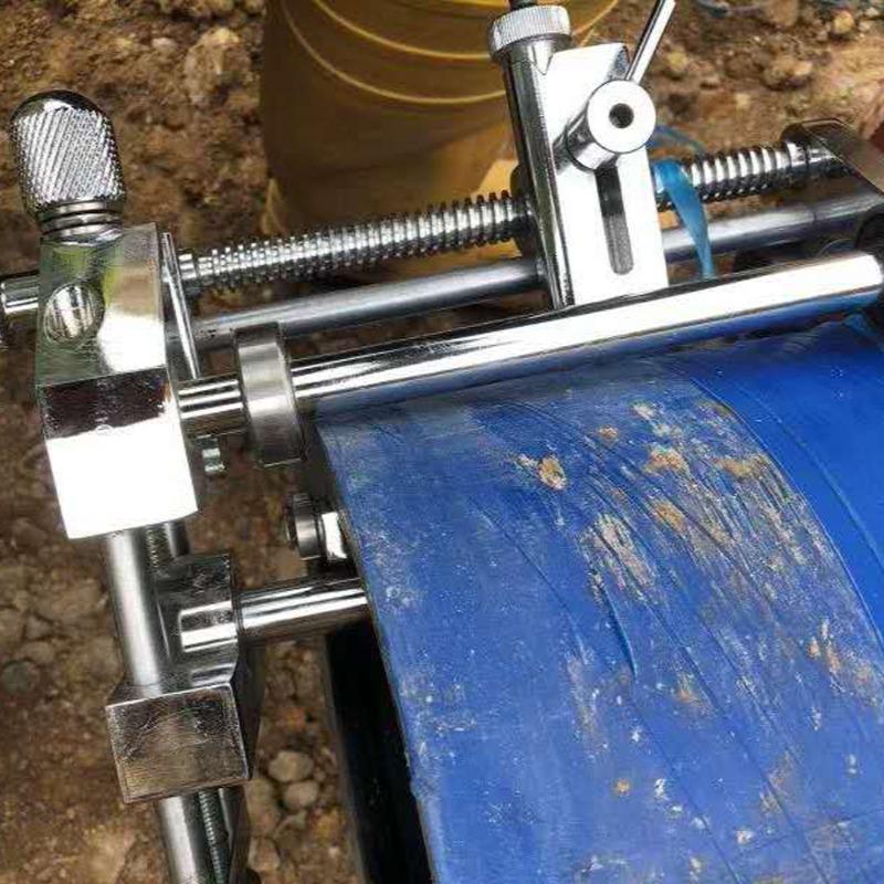 63-400管徑pe管旋轉刮刀 環形旋轉切割刀 機械刮刀 一套搞定