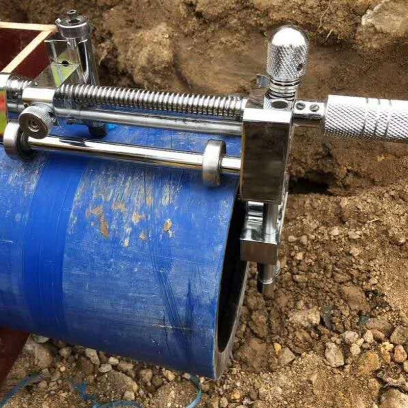 63-400管径pe管旋转刮刀 环形旋转切割刀 机械刮刀 一套搞定