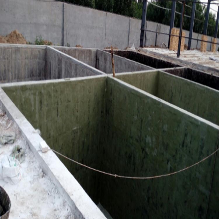 玻璃钢衬里防腐施工 水池 隔油池 玻璃钢衬里防腐-河北世鑫