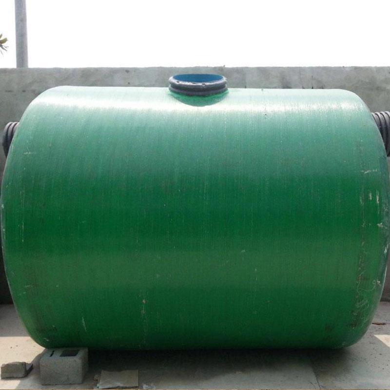 华创玻璃钢雨水收集池 存水罐 玻璃钢处理池