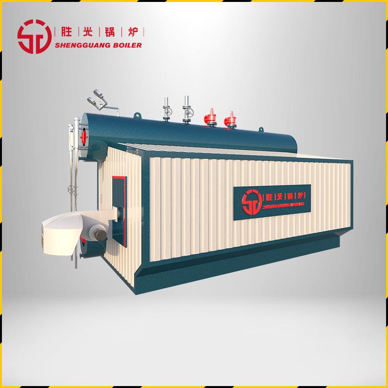 胜光锅炉6吨SZS燃气蒸汽锅炉