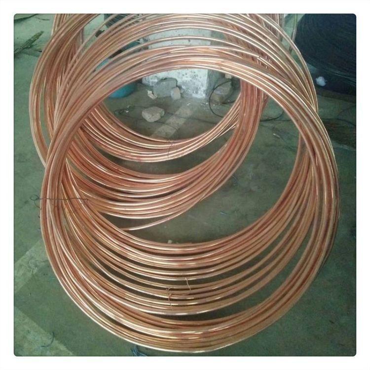 筑益 铜包钢圆钢 镀锡铜圆钢 镀铜圆线 100米一盘 规格全