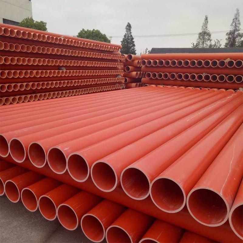 安徽MPP电力管厂家 聚丙烯mpp电力管 拖拉电力电缆保护管 洋生管业