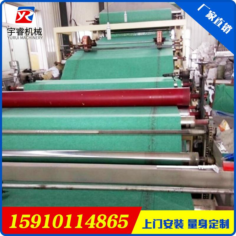 非沥青基自粘胶膜防水卷材生产设备 高分子防水卷材生产线