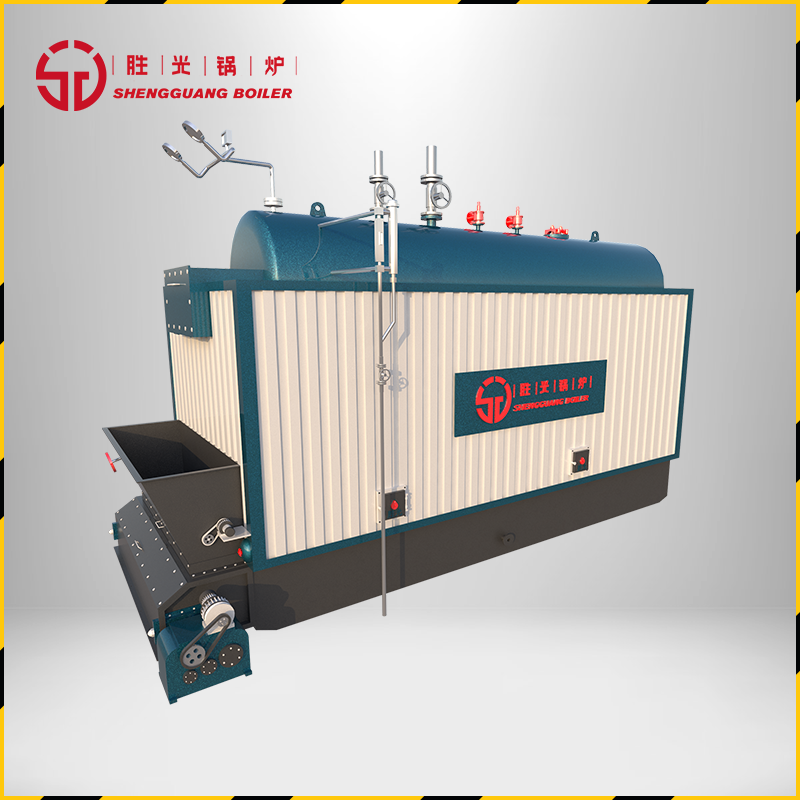 胜光锅炉10.5MW-DZL生物质承压热水节能环保锅炉