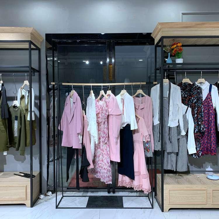 女装折扣货源 卡蒙迪专柜女装走份 亦谷 服装货源供应商