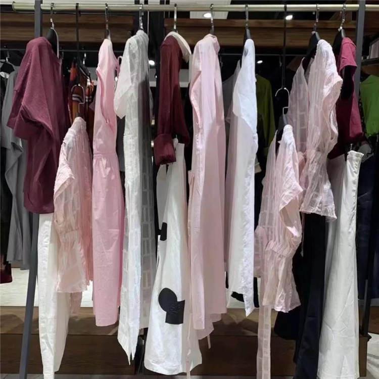 夏季真丝品牌连衣裙 唯弋20夏欧美时尚风格女装折扣店货源批发进货