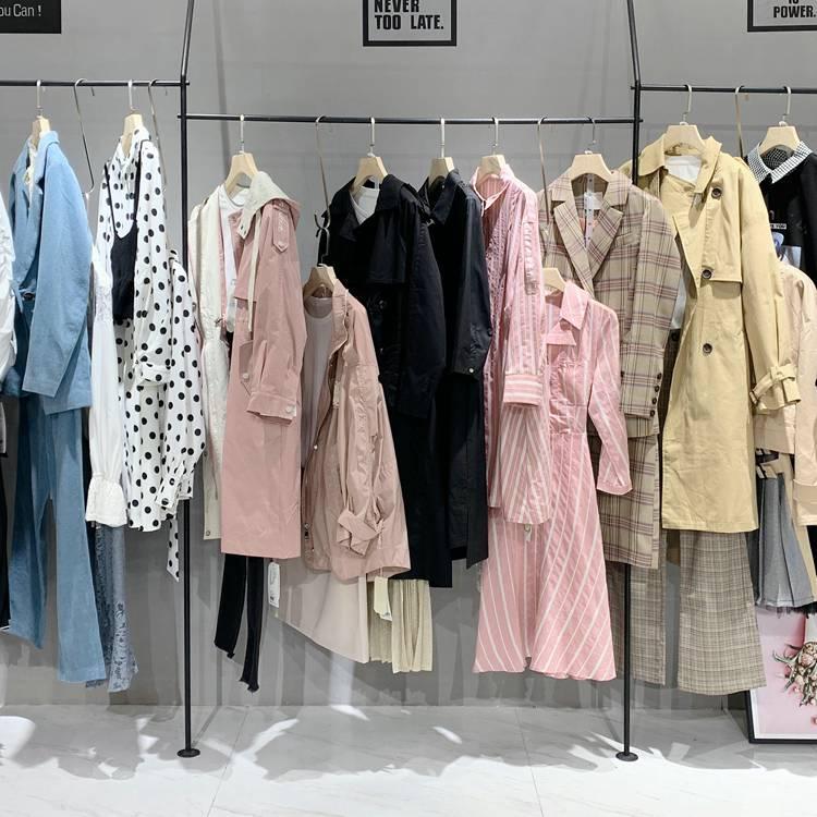 品牌女装尾货货源 圣加品牌尾货女装 蔓诺蒂 开服装店货源
