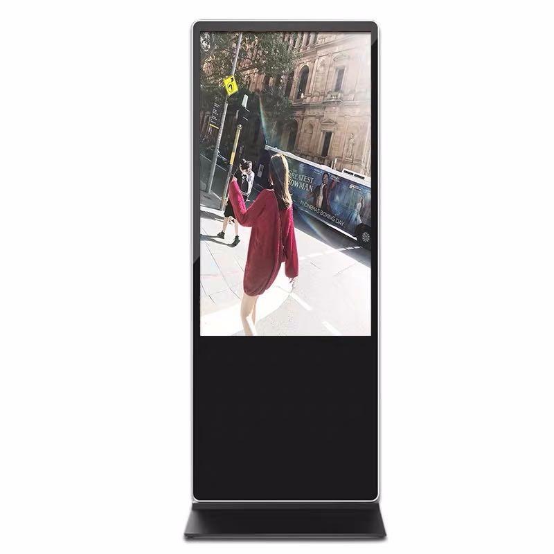 广视美55寸落地式户外广告机 安卓网络液晶立式广告机
