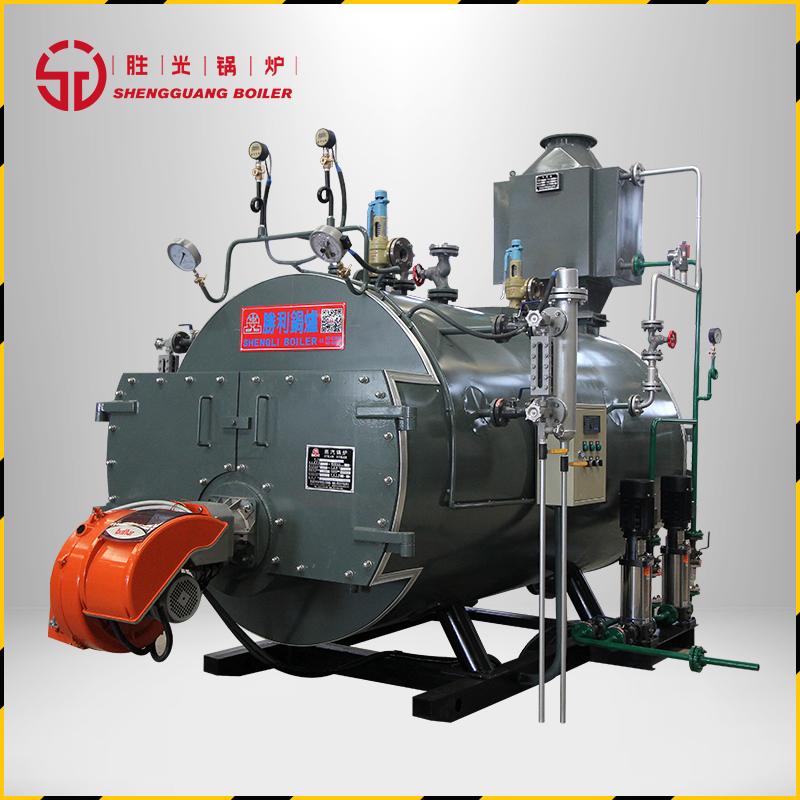 胜光锅炉4吨WNS燃气蒸汽锅炉