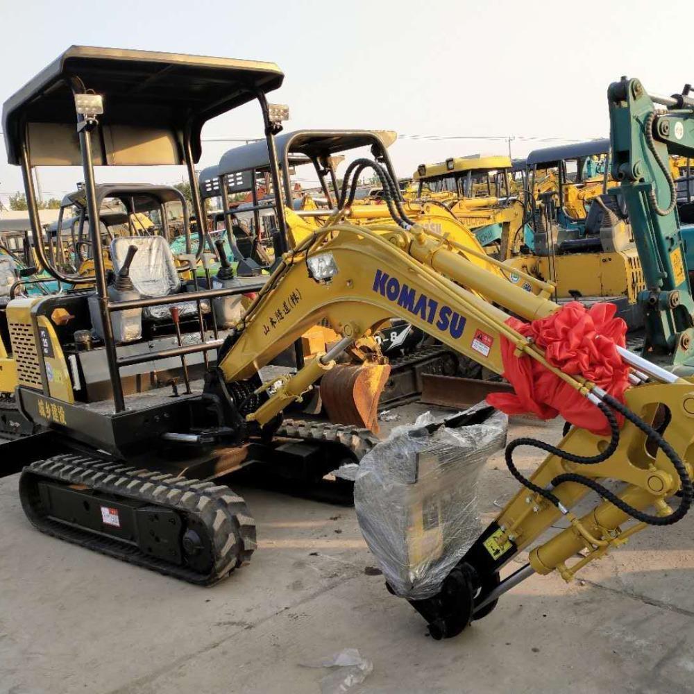 农田植树改造小松20挖机出租转让机械灵活质证可以台班包月