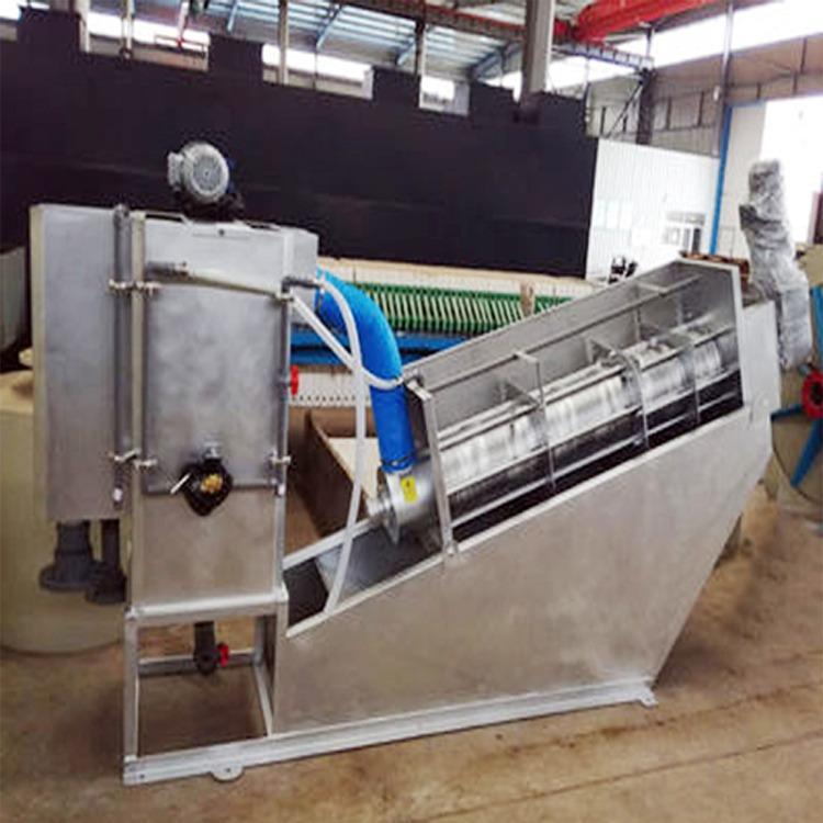 叠螺式污泥脱水机 全304不锈钢材质 叠螺脱水设备 叠螺压滤机