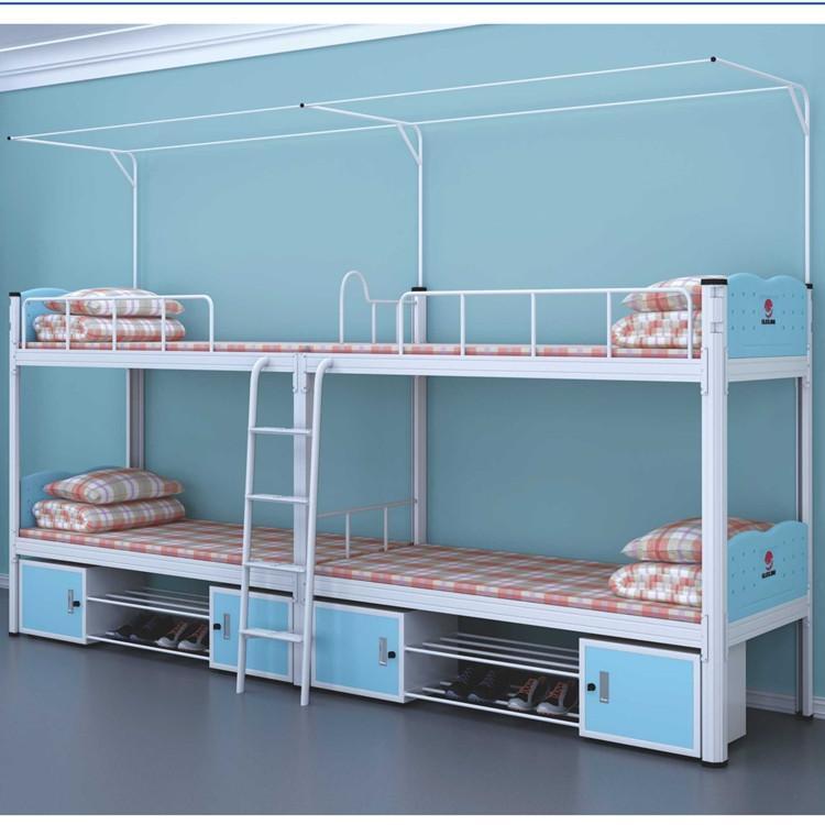 员工双人床 匠百盛员工宿舍双人床 员工上下铺双人床