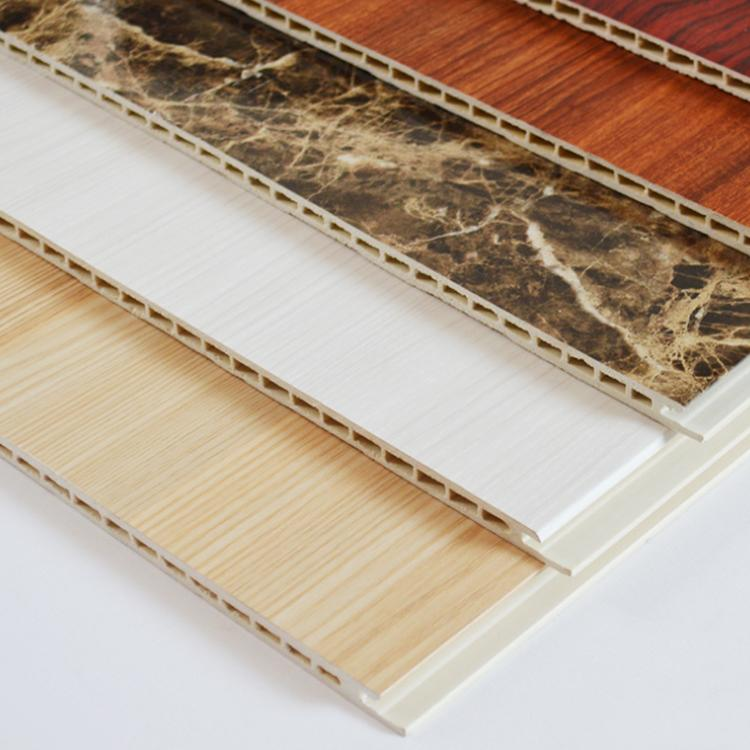 竹木集成墙板 快装墙板厂家 省人工便捷 时尚大方 花色多样