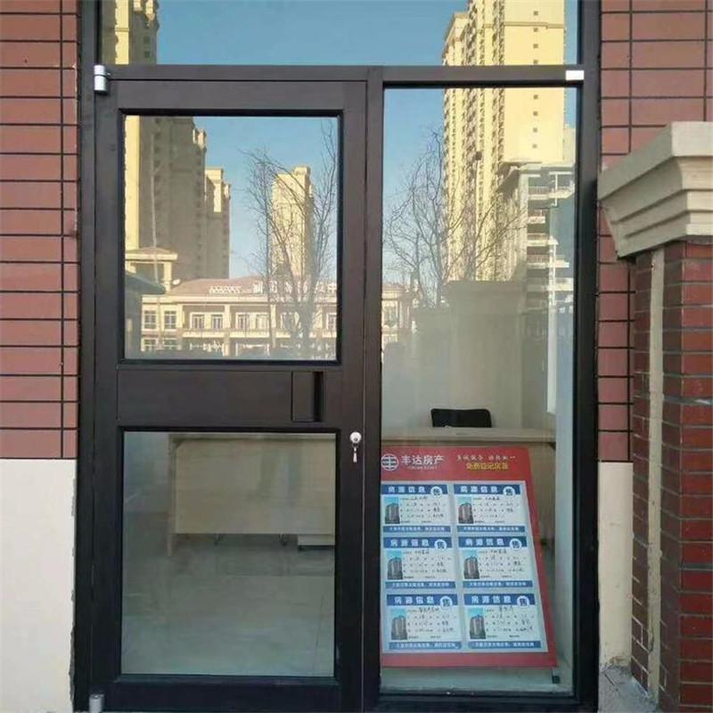 福州重型地弹门批发 福州重型地弹门定做 90度定位 带复位缓冲 金玛龙商务门