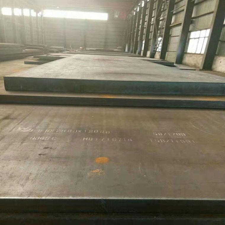 新钢NM500钢板 鸿金 高硬度NM500耐磨钢板 国产耐磨板代理商