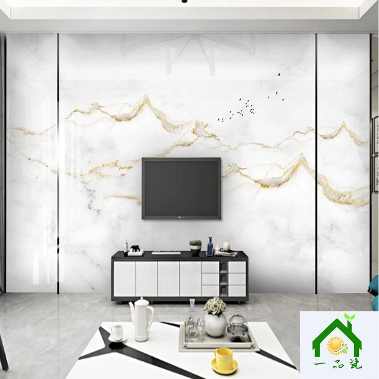 新中式瓷砖背景墙图片