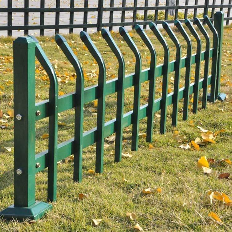 草坪护栏 园艺护栏 花坛路边绿化带围栏 焊接钢管锌钢围栏