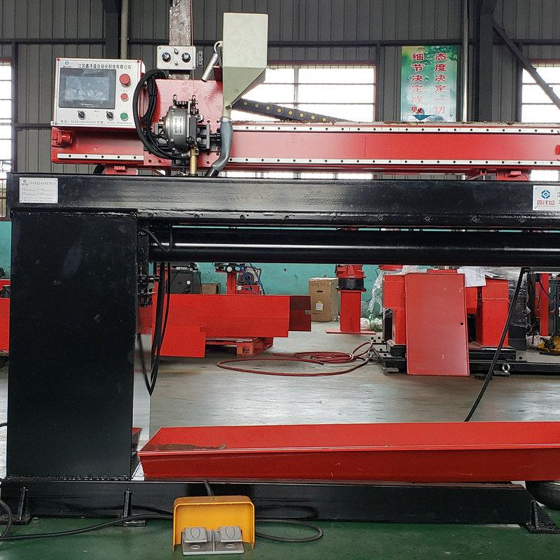 自动直缝焊机 XYSZF-1300 自动直缝焊机 焊接设备 直线焊 鑫洋盛