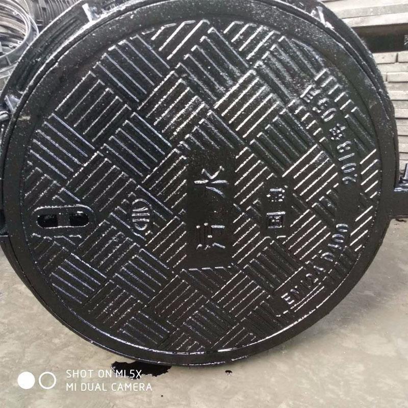 山东下水道盖板 球墨铸铁井盖厂家 球墨铸铁井盖可定制