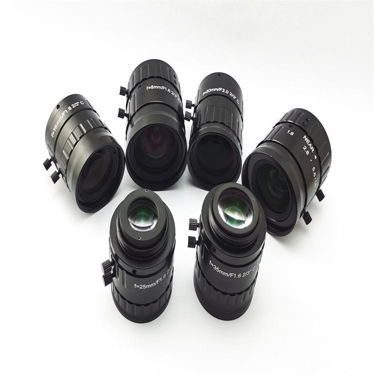 欧姆微FA镜头500万像素镜头OM165厂家专业生产