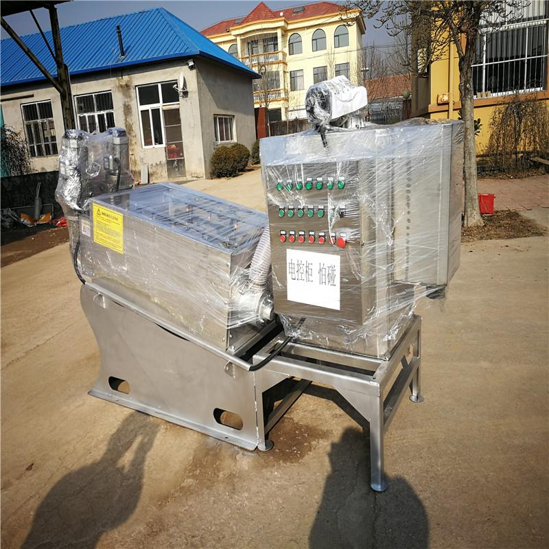 自动污泥脱水压滤机 叠螺式污泥脱水机 叠螺压滤机 精勇厂家直供