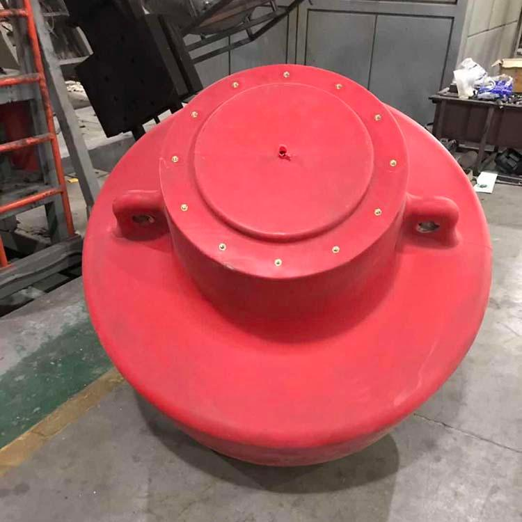 供应海洋浮标 友特容器大型航标浮漂定做 宁波带灯警示浮标生产厂家