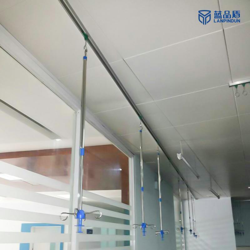 天轨输液吊架 输液天轨吊架 轨道输液架 使用方便 款式繁多 蓝品盾