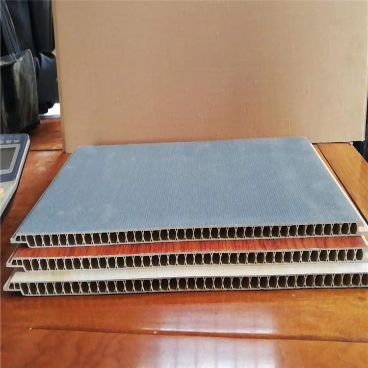 菏泽厂家直销 石塑集成墙板 pvc装饰板 石塑护墙板吊顶供应