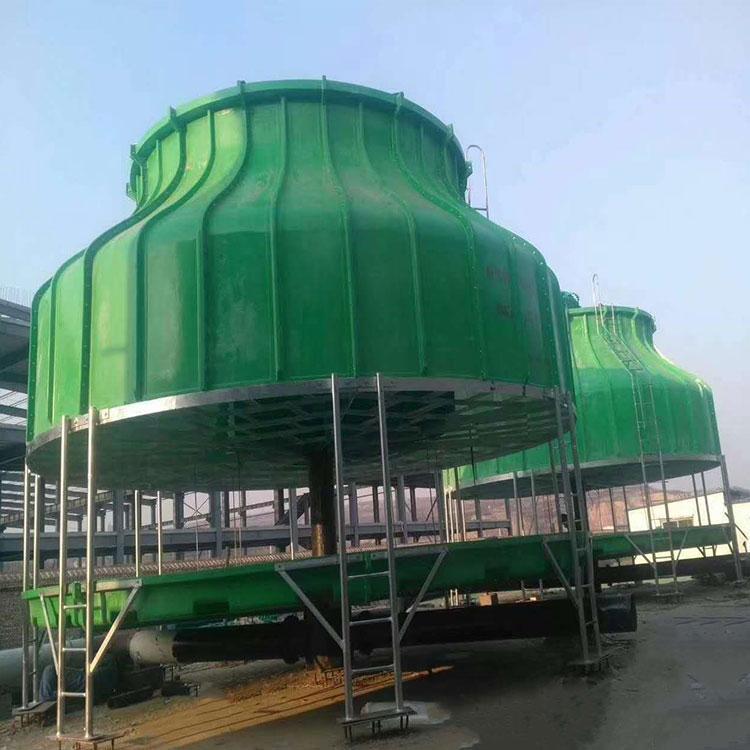 冷却塔生产厂家 玻璃钢30吨冷却塔 运行稳定