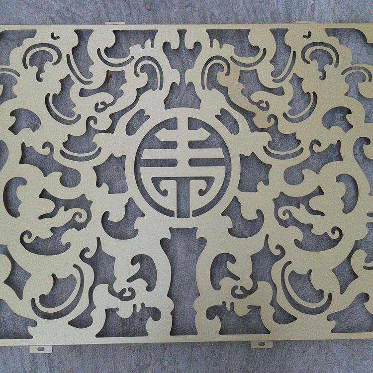 工程铝板镂空雕花价格合理 欢迎订购