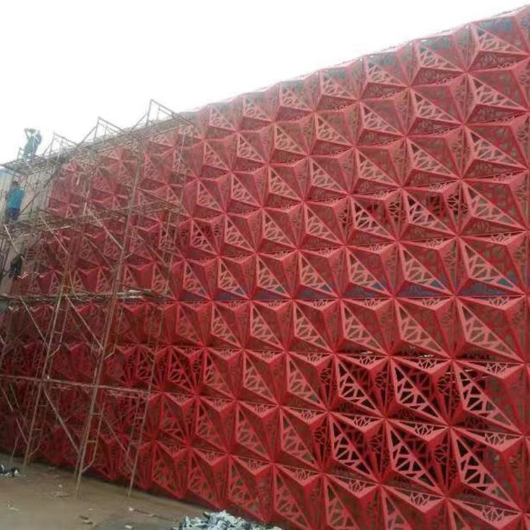 工程幕墙雕花铝单板厂家价格 欢迎咨询