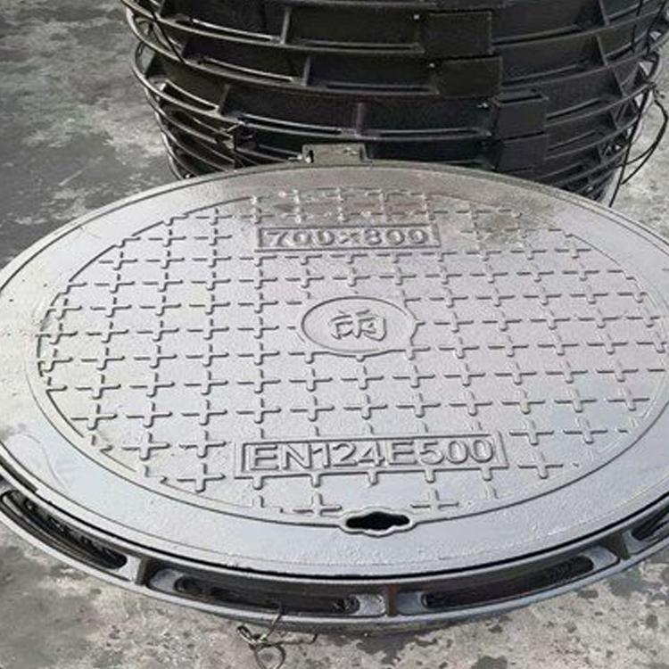 山东球墨铸铁井盖厂家 球墨铸铁井盖可定制 欢迎选购