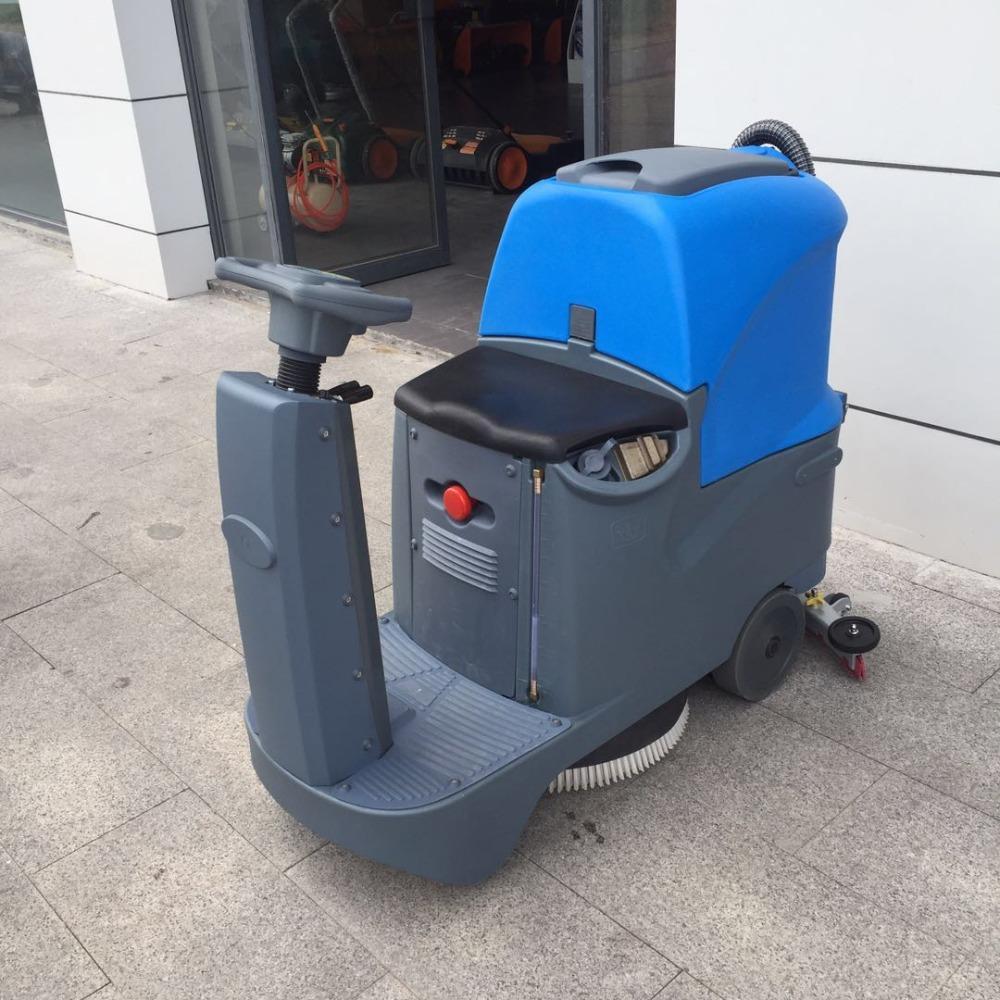 车间驾驶式洗地机 大型电瓶式洗地机