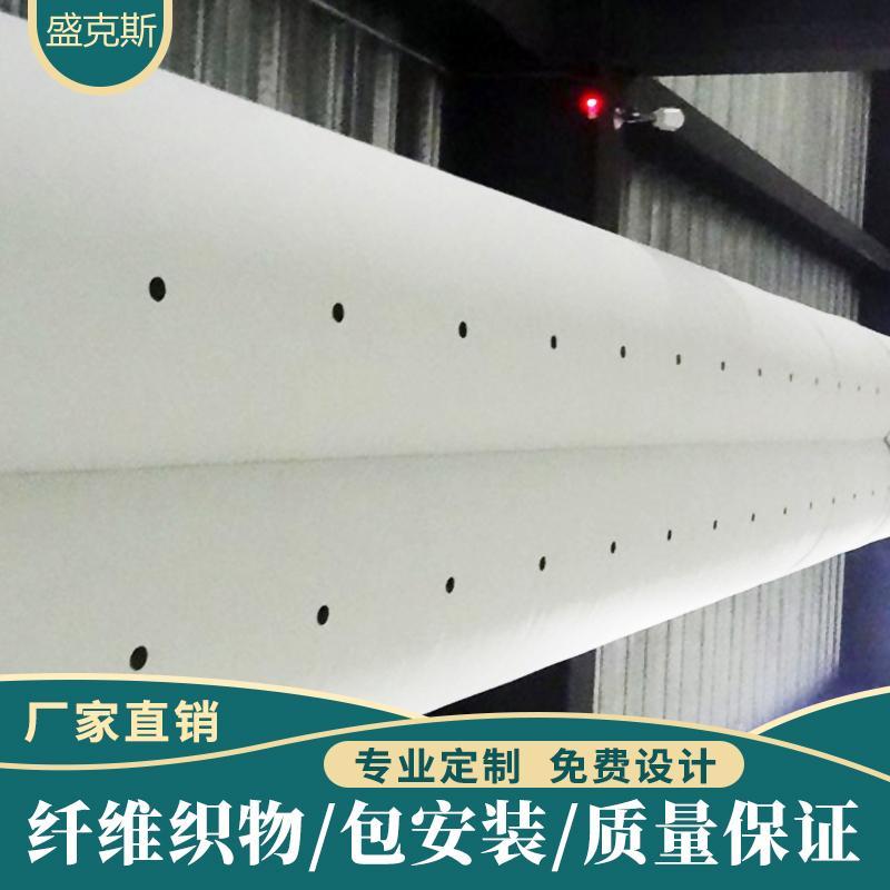 宜春布袋风管生产设备 风管帆布软连接 帆布伸缩管风道