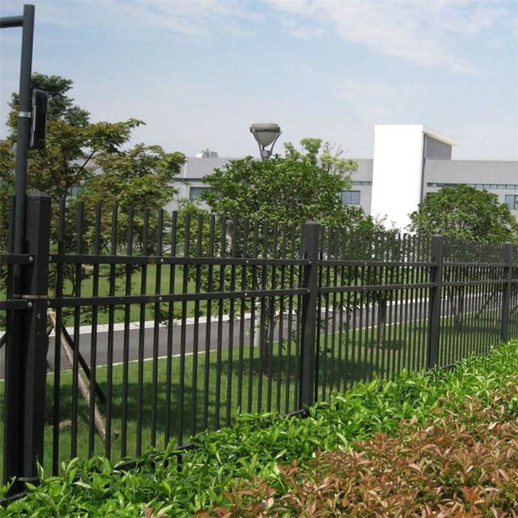 绿化围栏 园艺护栏 草坪锌钢护栏 围墙栅栏