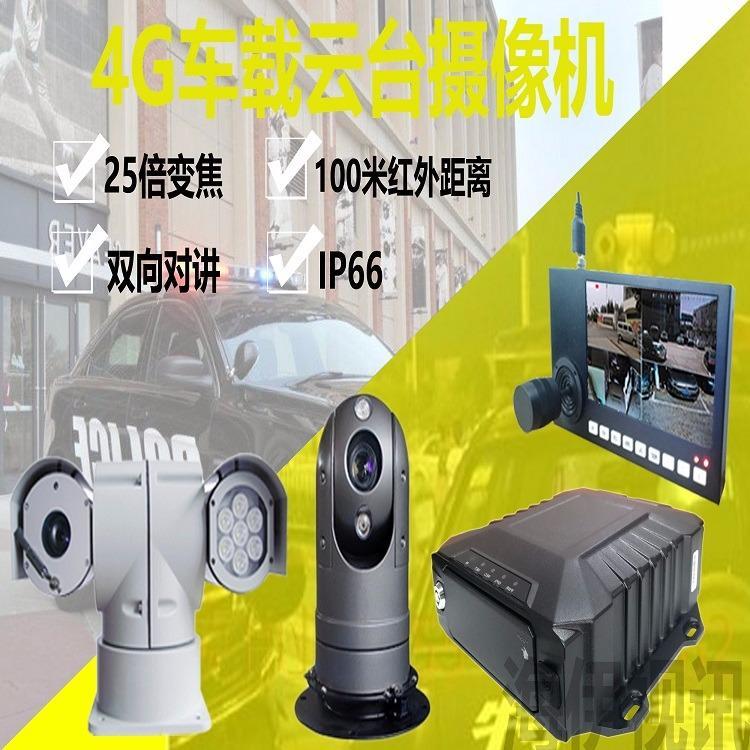 红外云台摄像机TV-153G智能红外网络云台高速球机1080P高清车载云台摄像机生产厂家