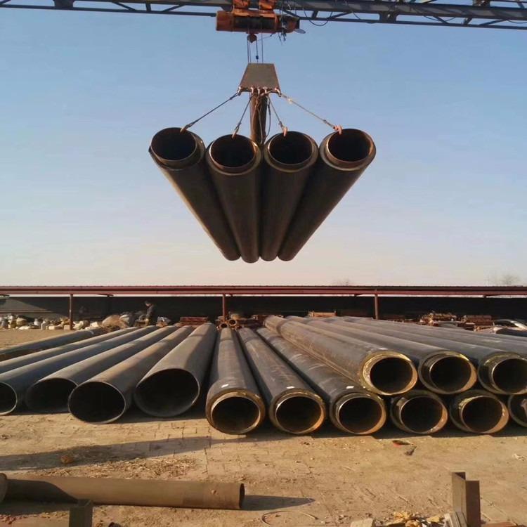 全国直销聚氨酯直埋热水管 地埋式采暖热水管 预制保温三通