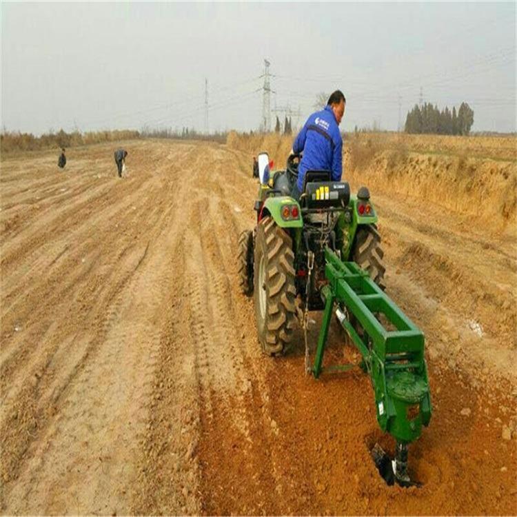 电动果园种树挖坑机 丰雷益 小型电线杆挖坑机