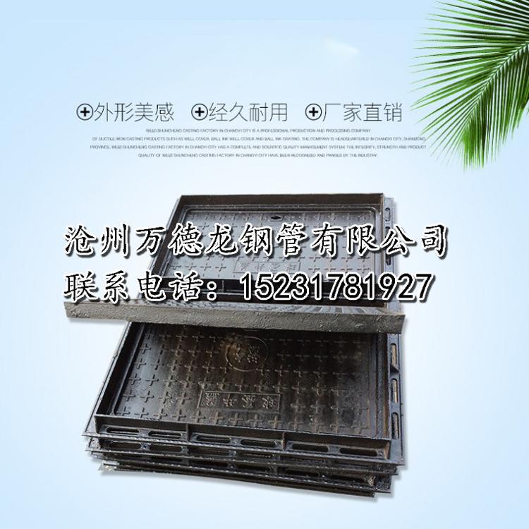 万德龙-雨水篦子-铸铁雨水篦子定制