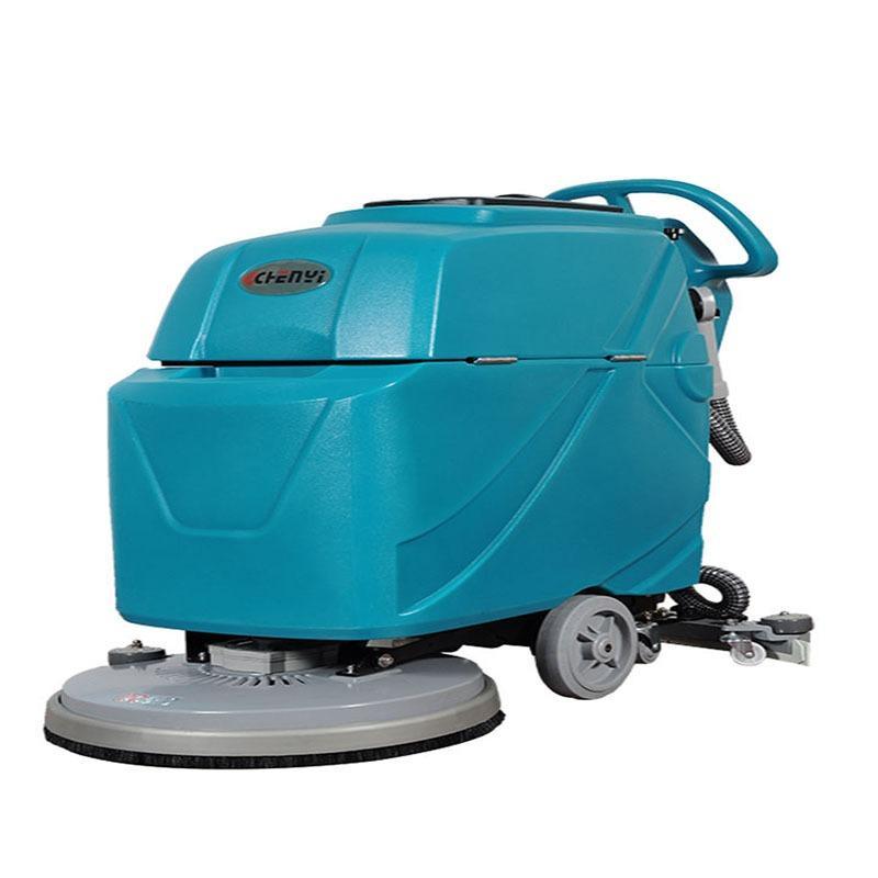 小型自动洗地机-手推式洗地机价格 汇洁鑫晟全国质保